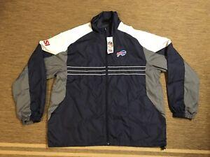Men's Adult Reebok NFL SI Buffalo Bills XL X-Large Jacket Football