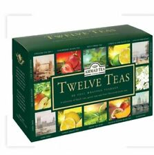 New AHMAD TEA , TWELVE TEA , 12 X 5 = 60 BUSTINE  , Best Before  30/09/2021
