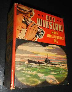 1942 Don Winslow Navy Intelligence Ace Big Little Book #1418 VF