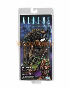 "NECA Scorpion Alien w Bendable Tail 7"" Action Figure Series 13 Aliens Collection"