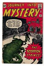 Marvel Comics VG 4.0 JOURNEY INTO MYSTERY 82 scorpion Strikes Proto type