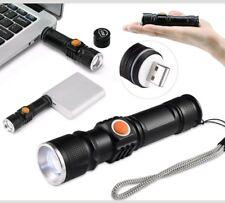 TORCIA BL 515 TATTICA /MILITARE LED RICARICABILI USB CREE T6 SORVEGLIANZA
