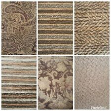 Upholstery Drapery Fabric Material By the Yard Multiple Patterns Available