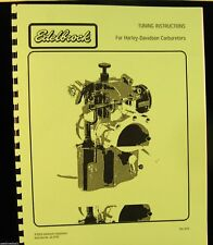 Edelbrock Tuning Instructions For Harley-Davidson Motorcycles No. 63-0195    FSH