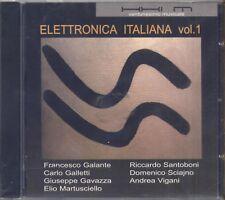 Elettronica italiana vol. 1 SCIAJNO SANTOBONI GALANTE GAVAZZA VIGANI GALLETTI CD