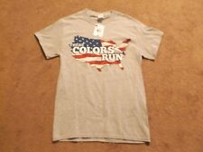 """Men's T-shirt by Gildan - Gray - """"These Colors Don't Run"""" - Size Small"""