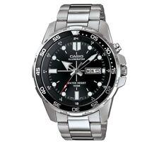 Casio MTD-1079D-1AVEF Black Dial Backlight Watch Super Illuminator Backlight_NEW