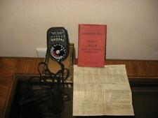 Vintage - Weston Master II Universal Exposure Light Meter Model 735 w/Manuel