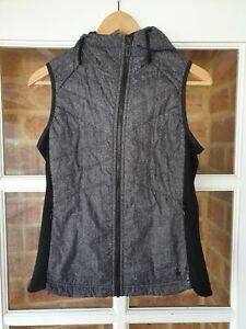 Smartwool Double Propulsion 60 Women's Merino Wool Hooded Vest Size Small EUC