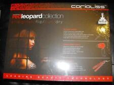 Corioliss Red Leopard Set Flat . Curler.Dryer. 120 v - 220 v   Sale!!