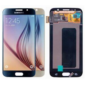 OEM Samsung Galaxy S6 G920 LCD Screen Digitizer Touch Gold Blue AMOLED Original