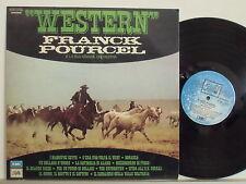 FRANCK POURCEL  WESTERN disco  LP 33 giri STAMPA ITALIANA  ENNIO MORRICONE