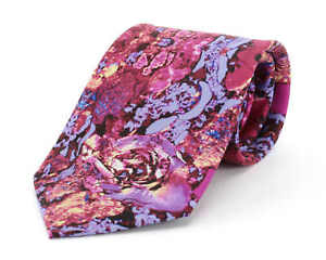 F1 Racing Car Brake Lining Silk Tie from Fox & Chave