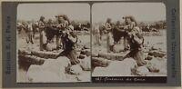 Fontana Da Cana Libano Foto Stereo Vintage Citrato c1900