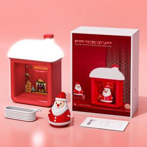 Christmas wall mounted Snow house LED mini night light desk lamp Gift