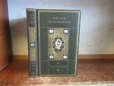 Old AGE OF INVENTION Book MECHANICAL DISCOVERY FARMING STEAM ENGINE MACHINERY ++