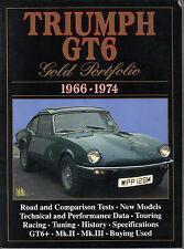 Triumph Gt6 1966-1974 Brooklands Oro Cartera prueba de carretera Libro Mk I, Ii & Iii