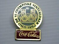 Pin's vintage épinglette collector pins pub Coca Cola JO 1952 LOT PJ033