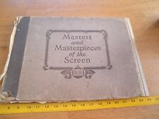 1927 Masters and Masterpieces of the Screen book Greta Garbo Joan Crawford