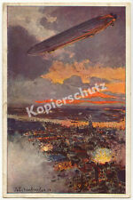 Eckenbrecher Zeppelin LZ 17 Luftangriff Bomben Antwerpen Kaiserliche Marine 1914