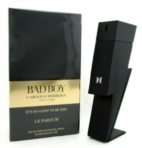 "Carolina Herrera ""Bad Boy LE PARFUM"" by  3.4oz, Eau de Parfum Spray, Sealed"