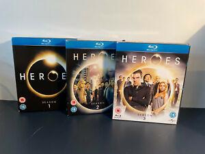 Heroes Series 1-3 Blu-ray Season 1 2 3