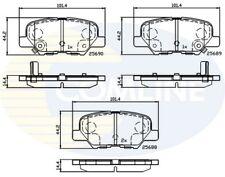 COMLINE Hinten Bremsbelagsatz Cbp32238 - Brandneu - Original - 5 Jahre Garantie