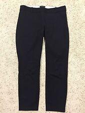 "J CREW ""MINNIE"" BLACK CROPPED PANTS size 4 Crop Capri 18850  E7"