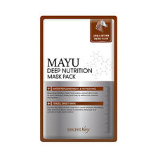 [Secret Key] Mayu Deep Nutrition Mask Pack - 3pcs ROSEAU