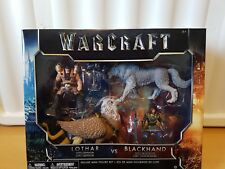 World Of Warcraft Movie Mini Figure deluxe 4 Pack Lothar vs Blackhand