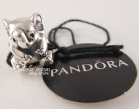LUCKY ELEPHANT Grnuine PANDORA Sterling Silver Charm 791902 NEW with TAG & POUCH