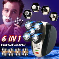 5 in 1 Rechargeable Bald Head Shaver Razor Cordless Hair Clipper Trimmer Groomer