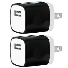 2x USB Wall Charger Power Adapter AC Home US Plug FOR Samsung LG iPhone 6 7 8 X
