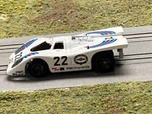 Aurora AFX custom paint Porsche 917 Martini 1971 LeMans winner HO Slot Car Body