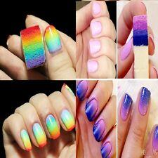 Lot 8x Éponge à Ongle Dégradé Vernis Acrylique UV Décoration Manucure Nail Art