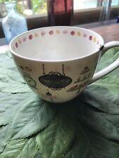 Portobello by Design Shop Series Patisserie Cup Tea Coffee Mug Bone China NWT