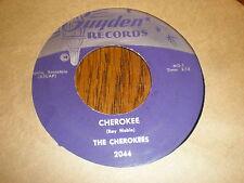 The Cherokees 45 Cherokee GUYDEN