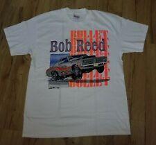 Bullet Bob Reed 1993 Super Stock Car Racing Driver T-Shirt men's size-Large New
