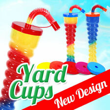 Yard Cups Slush Slushy MIX Colours 350ml 11,8oz. [1 Box - 190pcs] NEW DESIGN !!!