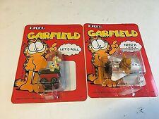 Vintage Ertl Odie & Garfield Diecast Toy Space Shuttle Dog House Car 1978