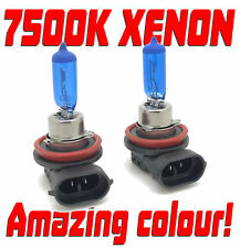 H11 H8 7500K XENON WHITE FRONT FOG LIGHT BULBS HID-LOOK For Renault MEGANE