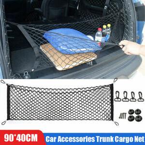 Car Accessories Envelope Style Trunk Cargo Net Storage Organizer Universal Big