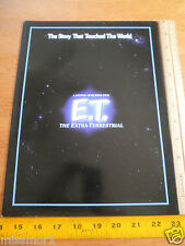 1992 ET The Extra-Terrestrial Universal Studios crew folder