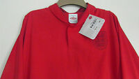 """NEW Official England Football Shirt Long Sleeve Large 44"""" Red  Jersey RRP £59"""