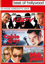 NEU* 3DVDs-BOX Mit Eddie Murphy, Jim Carrey-   I-SPY -- CABLE GUY -- DICK & JANE