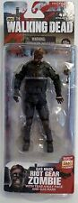 "GAS MASK RIOT GEAR ZOMBIE The Walking Dead 5"" Figure McFarlane Series 4 2013"