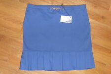 NWT LOVE MOSCHINO Womens Skirt Blue Italy 46 US 10 12 M