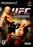 UFC: Throwdown PS2 PlayStation 2 Disc Only Tested Fast Free Shipping!