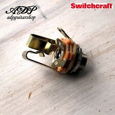 embase JACK STEREO SWITCHCRAFT Made in USA Tele Strat LP SG ...