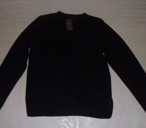 M&S Black Cashmilon Jumper Size L BNWT
